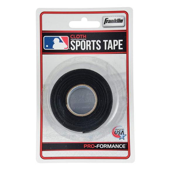 Franklin Black Bat Tape - 10 Yards