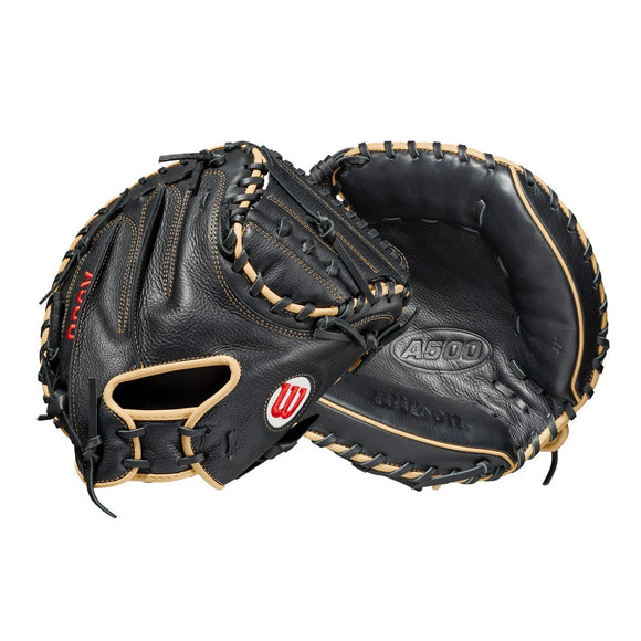 Wilson 2021 A500 Youth Catcher's Baseball Mitt - 32