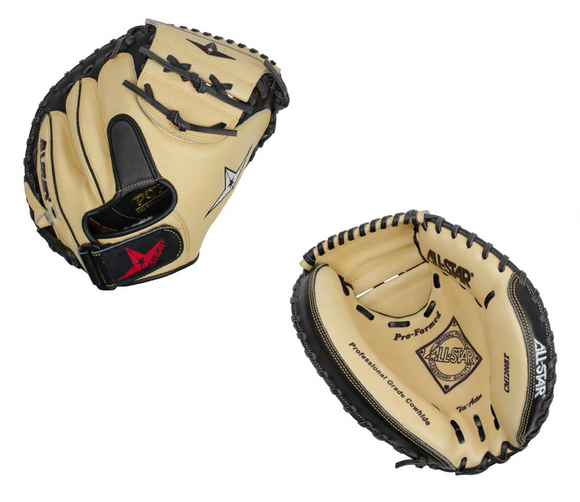 All-Star Pro-Comp CM1200BT Youth Baseball Catcher's Mitt - 31.5
