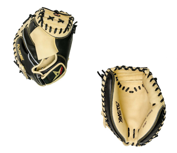 All-Star Pro Elite Travel Ball CM3000 Baseball Catcher's Mitt - 31.5