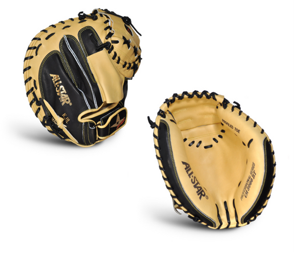 All-Star Pro Elite CM3000SBT Baseball Catcher's Mitt - 33.5