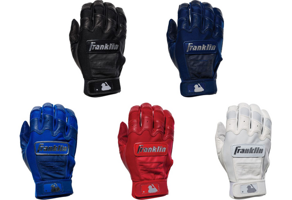 Franklin CFX Pro Full Color Chrome Adult Batting Gloves