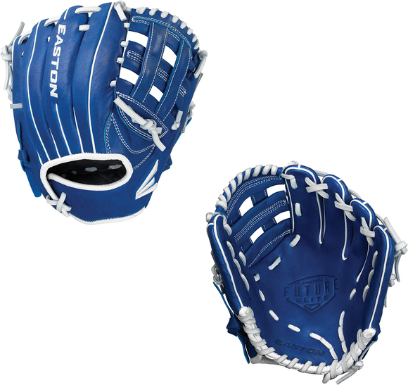 Easton Future Elite Youth FE1100 Royal/White Baseball Glove - 11