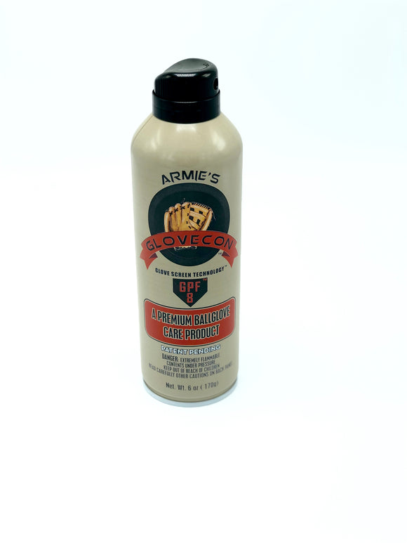 Glovecon Premium Ball Glove & Leather Care Aerosol Spray