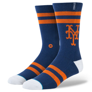 Stance Adult MLB New York Mets Amazins Crew Socks
