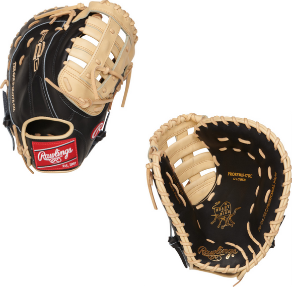 Rawlings Heart of the Hide R2G PRORFM18-17BC First Base Mitt - 12.5