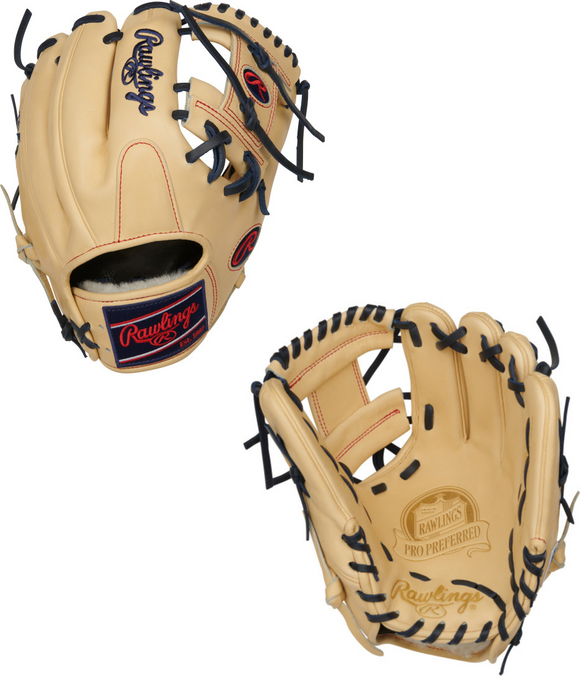 Rawlings 2021 Pro Preferred PROS204-2C Infield Glove - 11.5