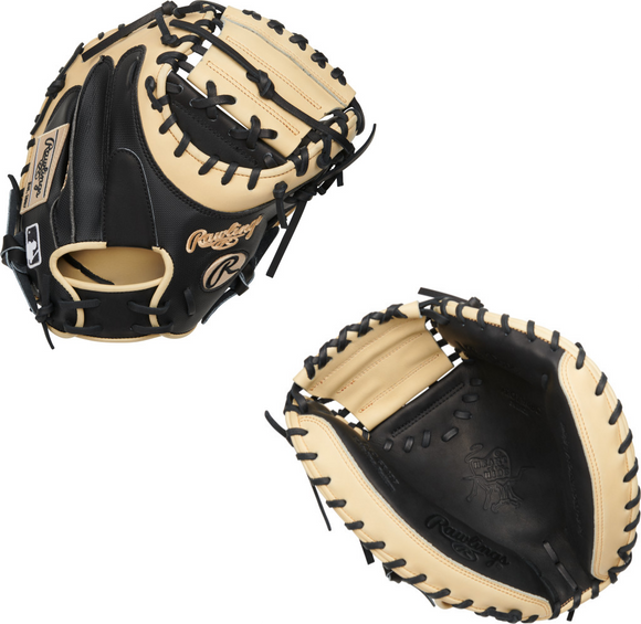 Rawlings 2021 Heart of the Hide Yadier Molina PROYM4BC Catcher's Mitt- 34