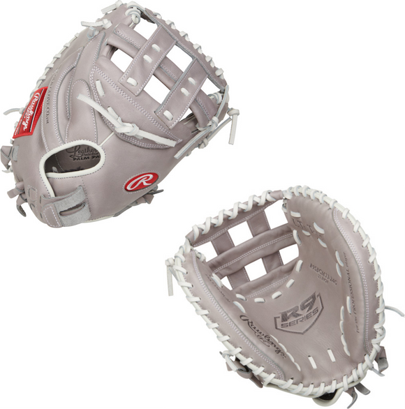 Rawlings R9 Series Fastpitch Catcher's Mitt - 33