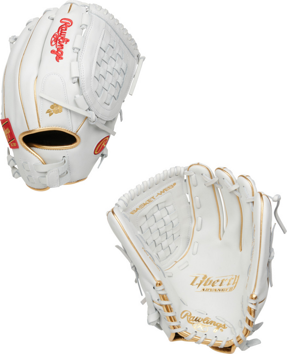Rawlings 2021 Liberty Advanced Series Outfield Fastpitch Softball Glove - 12.5