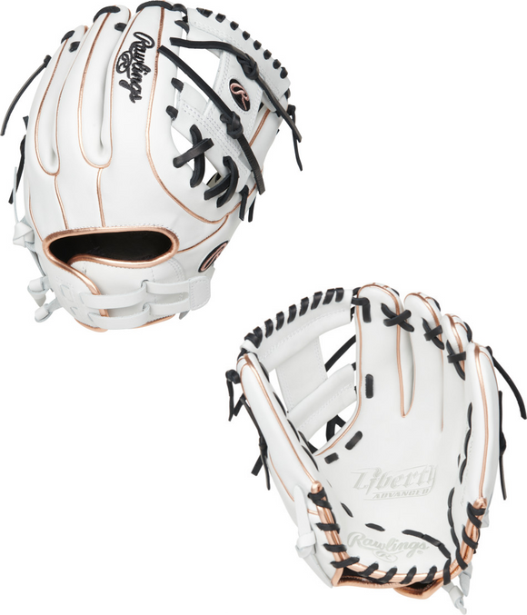 Rawlings 2021 Liberty Advanced Series Infield Fastpitch Softball Glove - 11.75