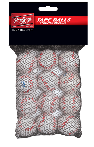 Rawlings 5-Inch Tape Balls (12-Pack)