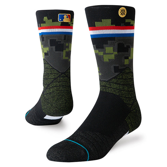 Stance MLB 2019 Armed Forces Day Diamond Pro Crew Sock