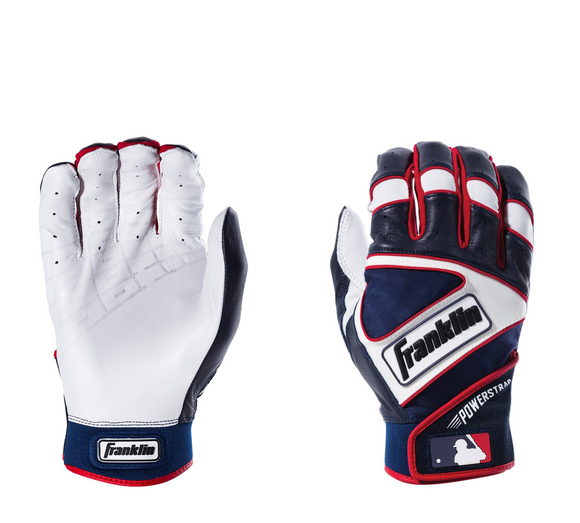 Franklin MLB Powerstrap Batting Gloves