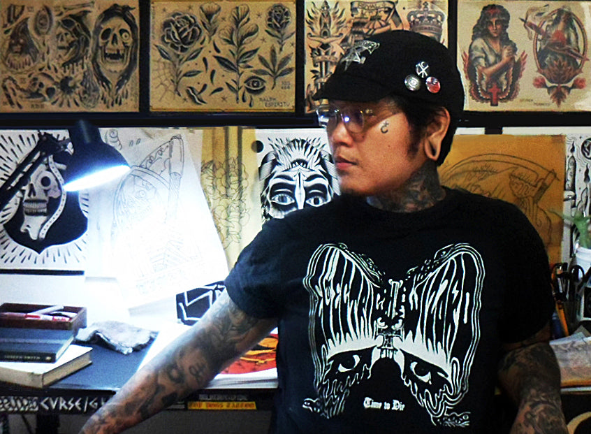 Ralph Espiritu tattoo artist Stay Cold design illustrator