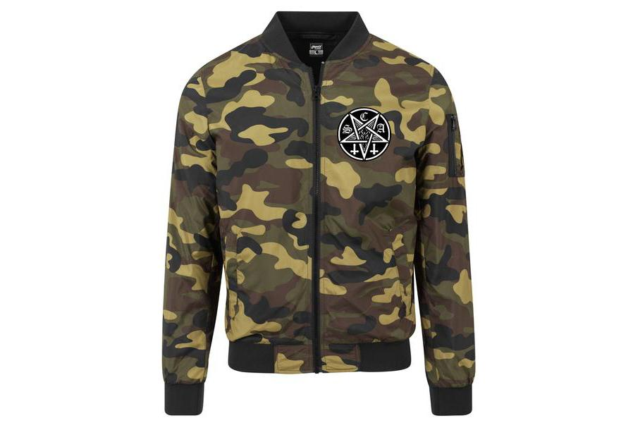 The Avenger Windbreaker Camo
