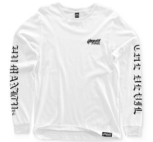 Humanity Is The Devil Longsleeve White