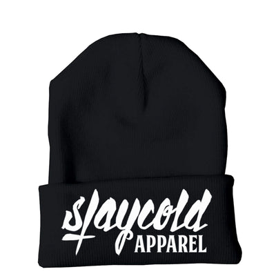 STAY COLD LOGO BEANIE
