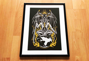 Lord Of This World Print