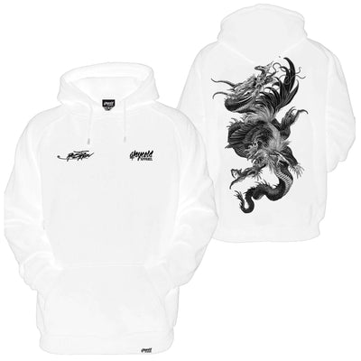 Dragon Slayer Hoodie (White)