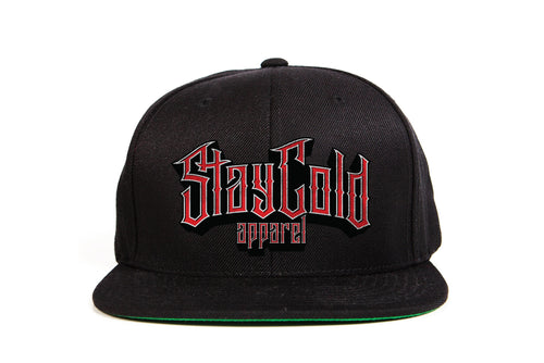 Stay Cold Imprint Snapback
