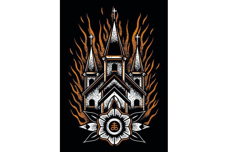 Church Burner Print