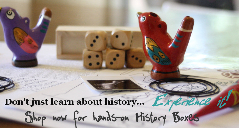 History Unboxed - high quality hands-on history activities