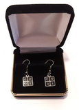 Code.org Logo Earrings