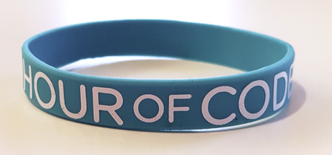 Hour of Code Silicon Bracelet