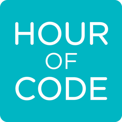 Hour of Code Logo Temporary Tattoos