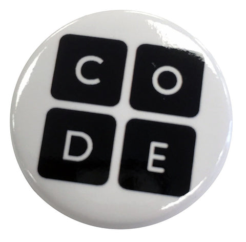 5-Pack of Code.org Buttons