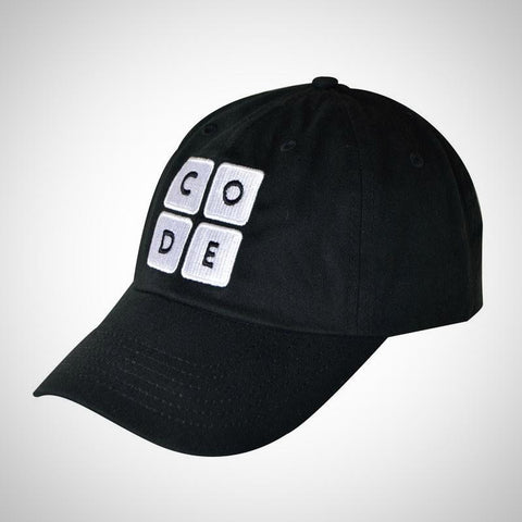 The Code.org Cap - Black