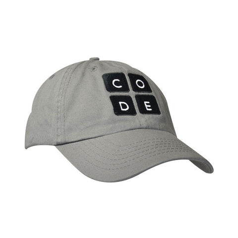 The Code.org Cap - Gray