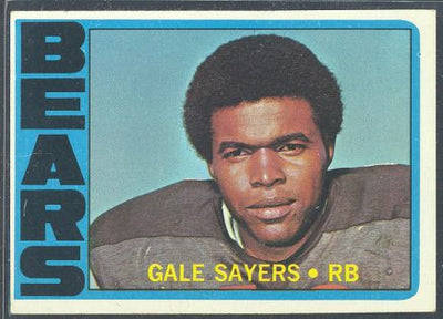 Football Cards - 1972 Topps Gale Sayers #110 - Bears
