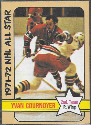 Hockey Cards - 1972-73 - Topps Yvan Cournoyer #131 - Canadiens - All Star