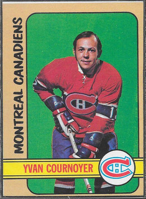 Hockey Cards - 1972-73 - Topps Yvan Cournoyer #10 - Canadiens