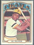 Baseball Cards - 1972 Topps Al Oliver #575 - Pirates