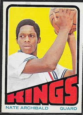 Basketball Cards - 1972-73 Topps Nate Archibald - #115- Kansas City Kings