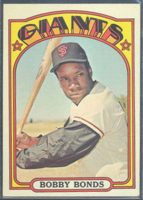 Baseball Cards - 1972 Topps Bobby Bonds #711 - Giants