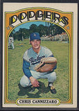 Baseball Cards - 1972 Topps Chris Cannizzaro #759 - Dodgers