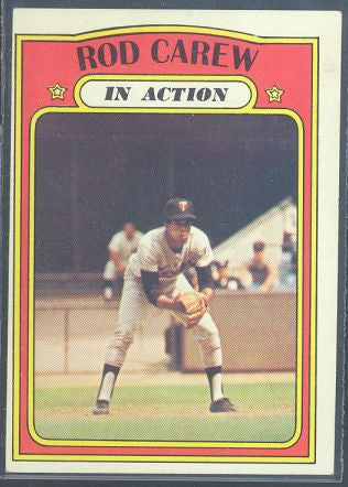 Baseball Cards - 1972 Topps Rod Carew IA #696 - Twins