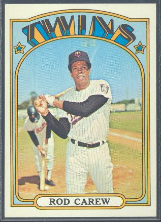 Baseball Cards - 1972 Topps Rod Carew #695 - Twins