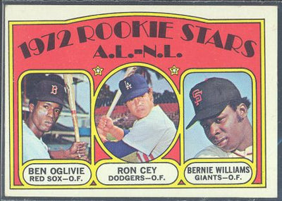 Baseball Cards - 1972 Topps Rookie Stars AL-NL #761 - Ron Cey