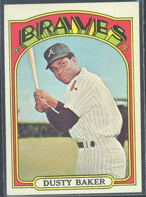 Baseball Cards - 1972 Topps Dusty Baker #764 - Braves