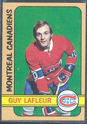 Hockey Cards - 1972-73 Topps Guy Lafleur #79 - Canadiens