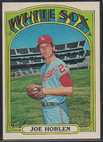 Baseball Cards - 1972 Topps Joe Horlen #685 - White Sox