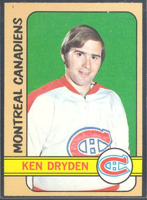 Hockey Cards - 1972-73 Topps Ken Dryden #160 - Canadiens