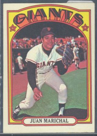 Baseball Cards - 1972 Topps Juan Marichal #567 - Giants