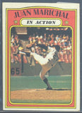 Baseball Cards - 1972 Topps Juan Marichal IA #568 - Giants