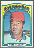 Baseball Cards - 1972 Topps Tom McCraw #767 - Rangers